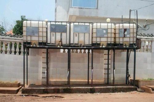 Article : La quête d'eau en banlieue de Conakry